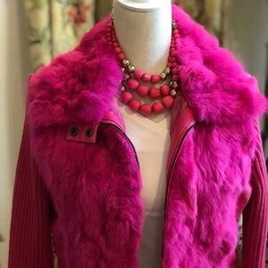 Jackets & Coats - Hot pink jacket fur 🎀
